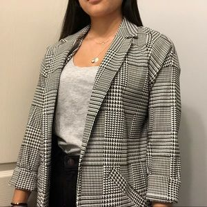 NWT Plaid Blazer